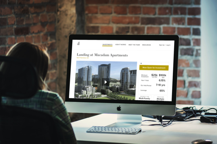 Crowd funding Market Place for Real Estate